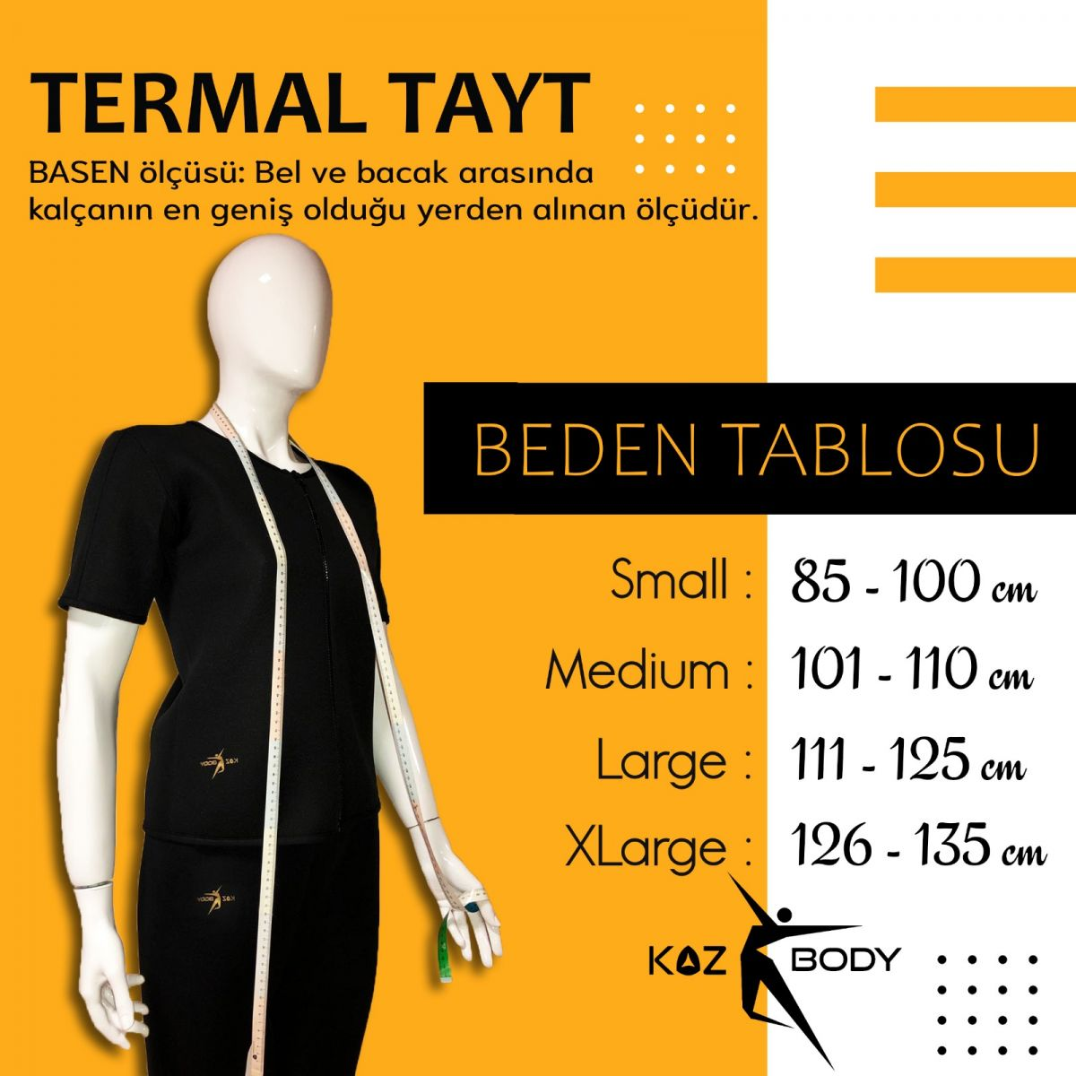 Koz Body Termal Set