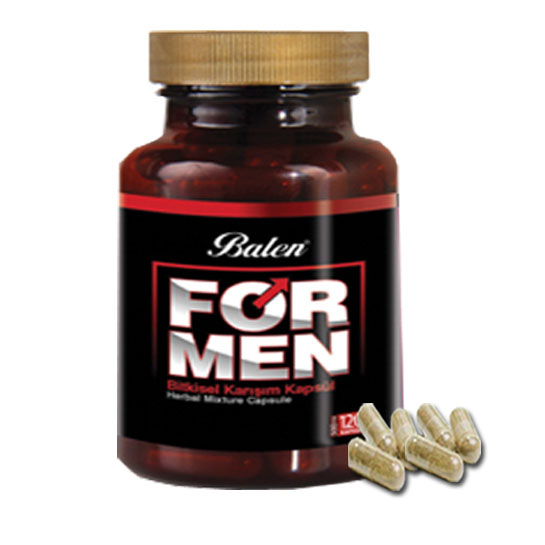 Balen For men 500 mg 120 Kapsül