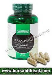 HerbalFarma Herbal Panax 120 Kapsülü